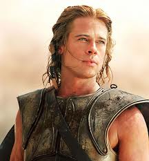 Achilles played by Brad Pitt