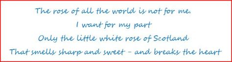 The Little White Rose by Hugh MacDiarmid