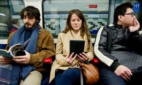 Reading On London Underground