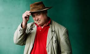 Louis De Bernieres  - perhaps a better writer than taste in hats!