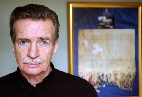 At last McIlvanney and I have something in common - our facial hair is the same colour!