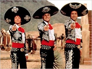 "I'd Been Tempted By The Three Amigo's Mexican Lit Challenge - but I failed the ""has he enough sequins on his hat?' entry requirement"