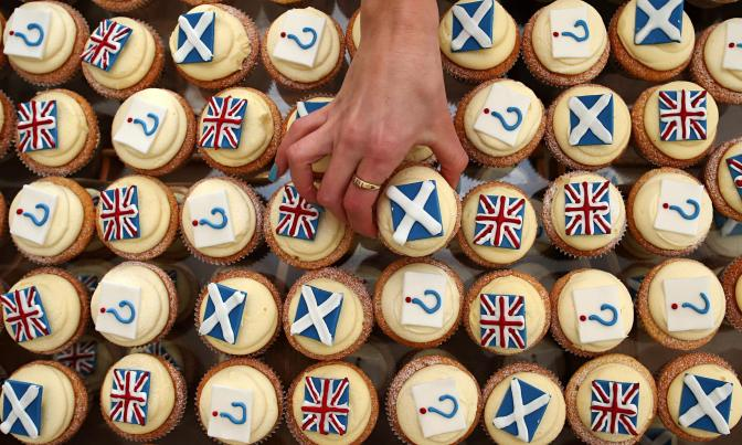 Scottish independence - the cake debate!