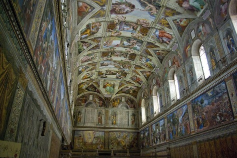 In the time it's taken me to write 200 blog posts, Michelangelo had half finished the Sistine Chapel.