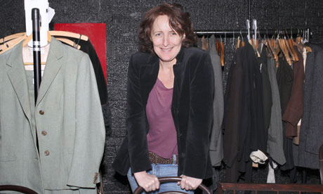 Fiona Shaw - great actress, wonderful narrator.....and a bloody good cloakroom attendant too apparently!
