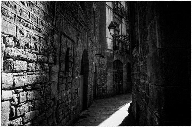 Where The Streets Have No Sane………………. Barcelona Shadows by Marc Pastor