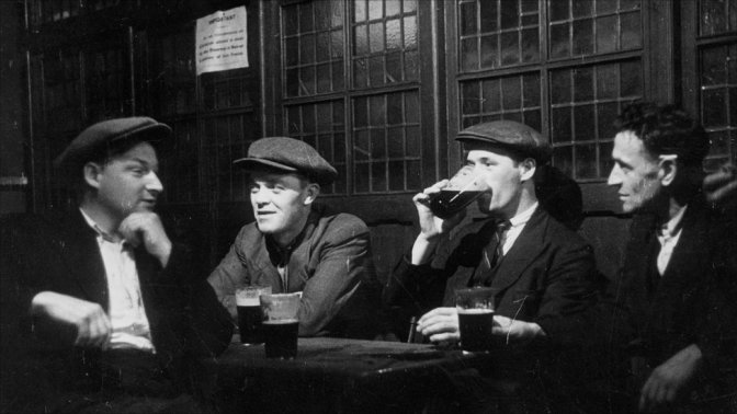 "A Man Walked Into A Bar And Went ""Aaaagh""………….Two Pints by Roddy Doyle"